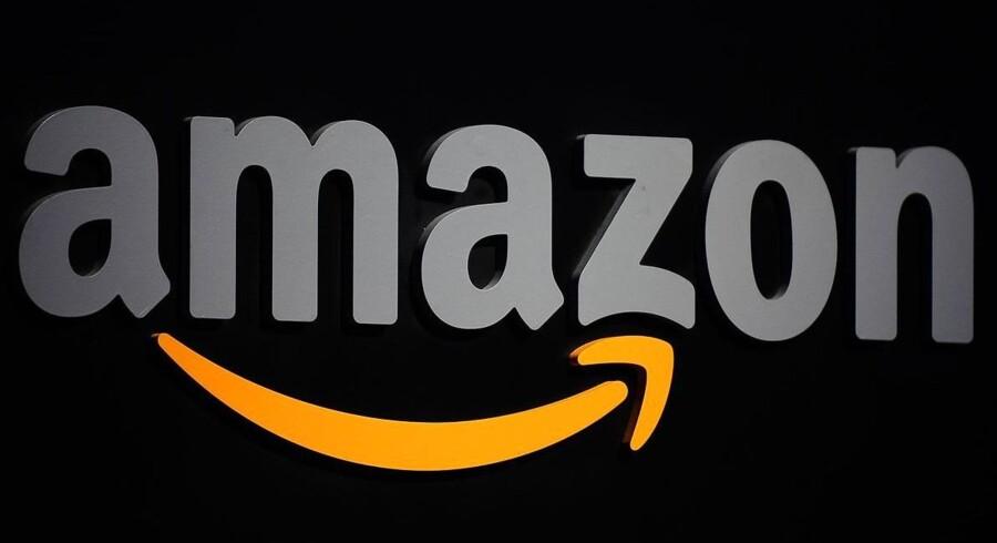 Internetgiganten Amazon, som i dag er rigtigt meget andet end en internetboghandel, mønstrer et overraskende overskud. Arkivfoto: Emmanuel Dunand, AFP/Scanpix