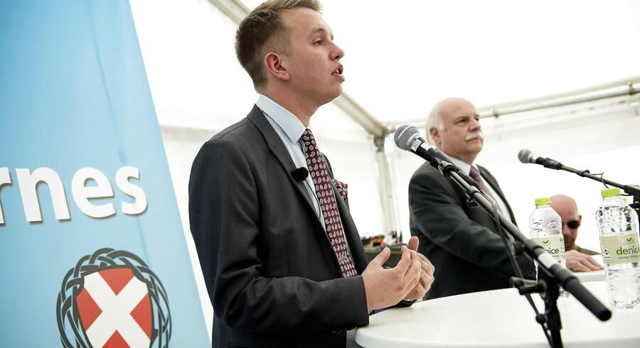 Daniel Carlsen, partileder i Danskernes Parti. Arkivfoto.