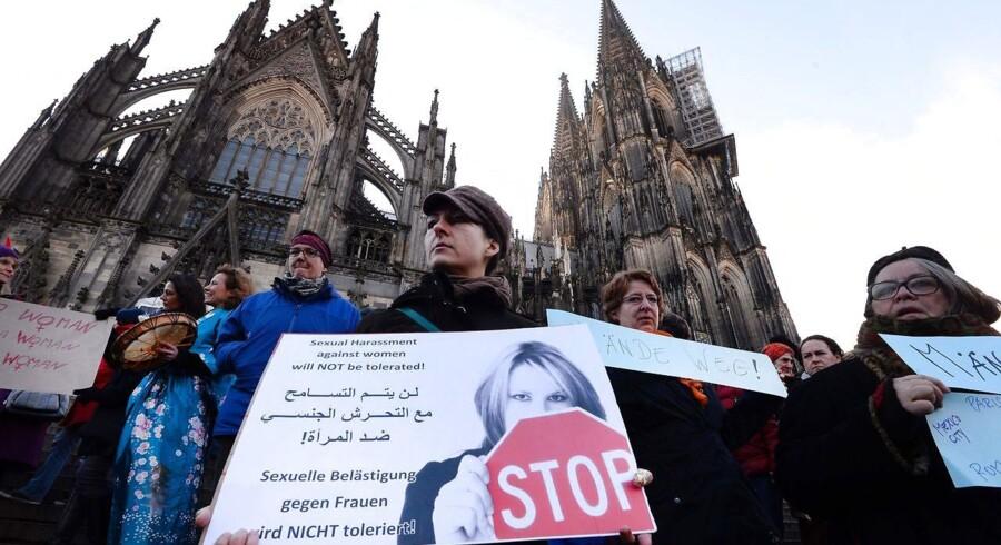 Arkivfoto: Efter Köln-overgreb: Tyskland strammer lov om voldtægt, så definitionen på sexforbrydelser bliver bredere, og så det bliver nemmere at udvise udlændinge, som begår dem.
