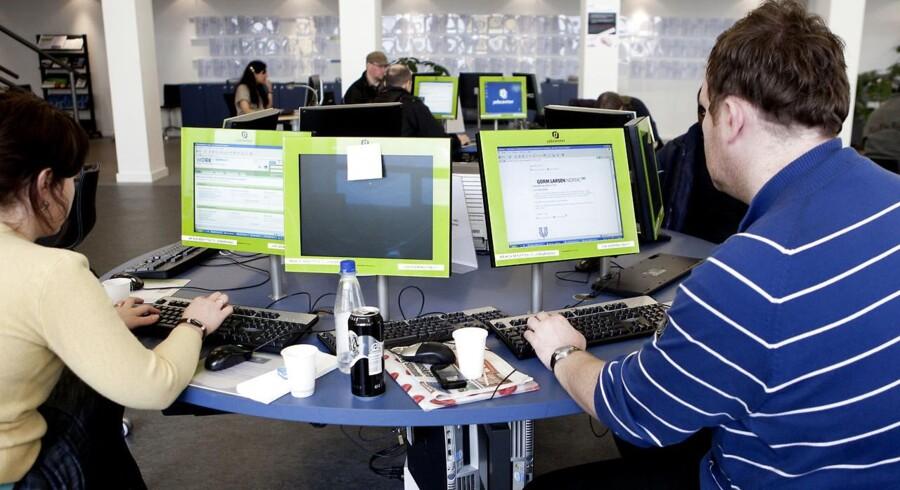 Fire ud af ti virksomheder får jobansøgninger fra ledige, der slet ikke er interesserede i at få jobbet, de søger. (Foto: Esben Salling/Ritzau Scanpix)