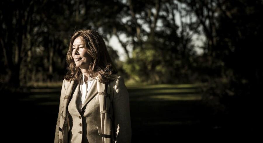 Marika Frederiksson, CFO hos vindmølleproducenten Vestas, sidder på et stort kontantbjerg.