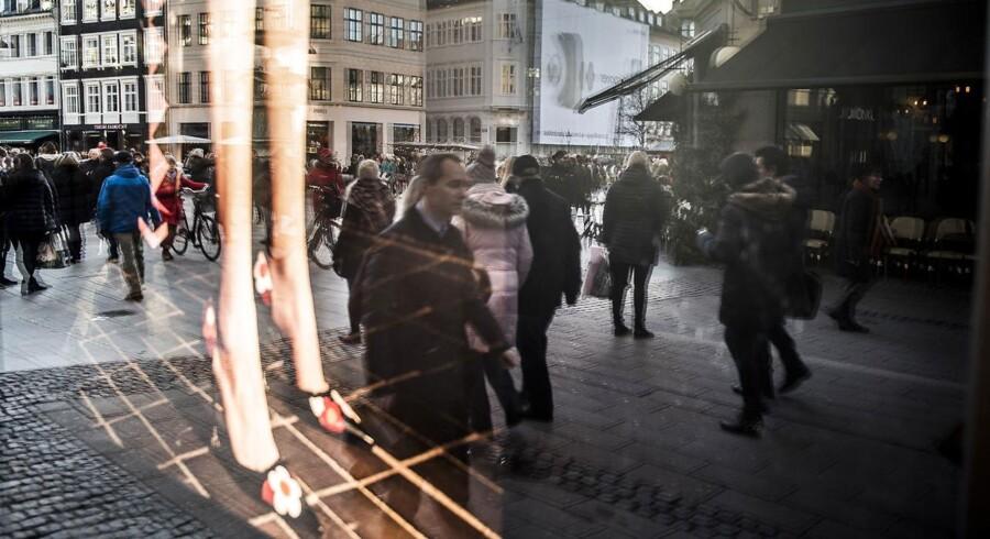 Arkivfoto. Den danske forbrugertillid steg i april til 7,4 efter at være endt på 6,2 måneden før, viser tal fra Danmarks Statistik torsdag morgen.