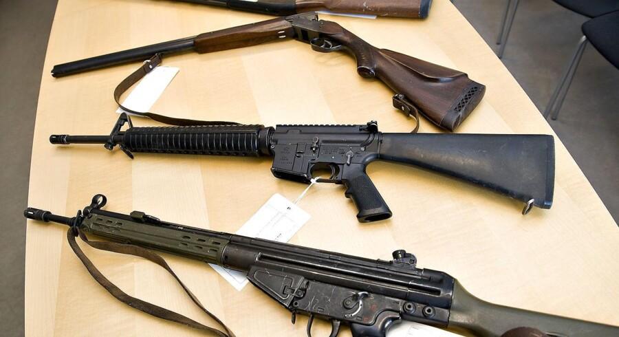 Hver dag i juni er der i gennemsnit indleveret over 167 skydevåben på politistationer rundt om i landet, viser en opgørelse fra Rigspolitiet.