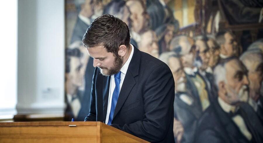 Arkivfoto: Jeppe Jakobsen (Dansk Folkeparti).