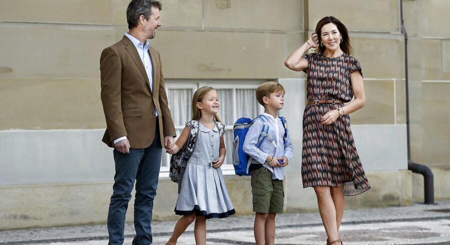De royale tvillinger prinsesse Josephine og prins Vincent kan mandag fejre deres syvårs fødselsdag.