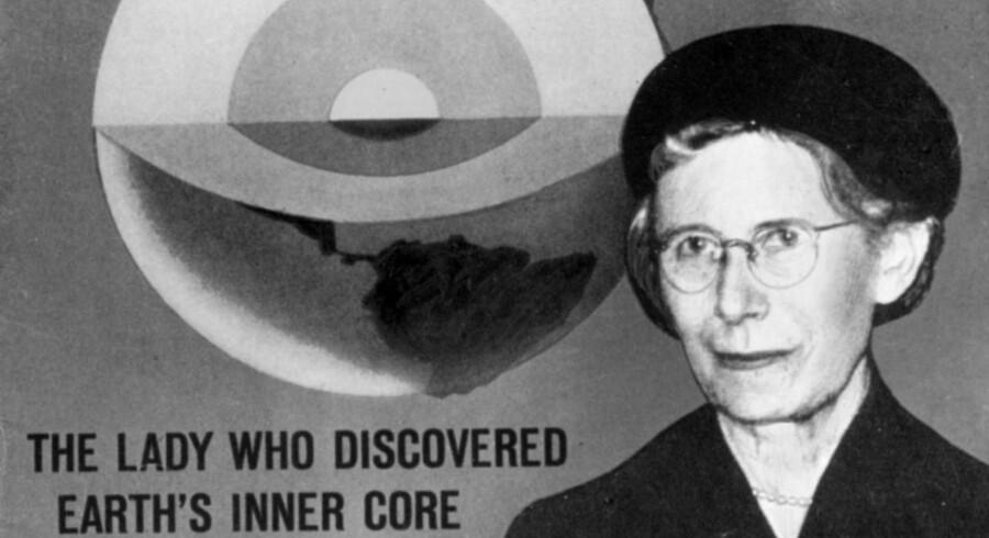 Statsgeodæt og seismolog, Inge Lehmann, der opdagede jordens indre kærne.