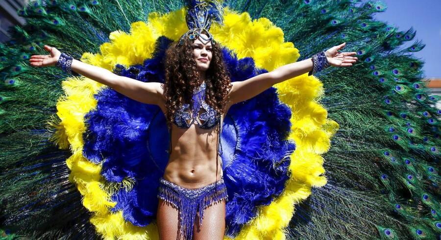 Karneval i Brasilien. REUTERS/Hannibal Hanschke