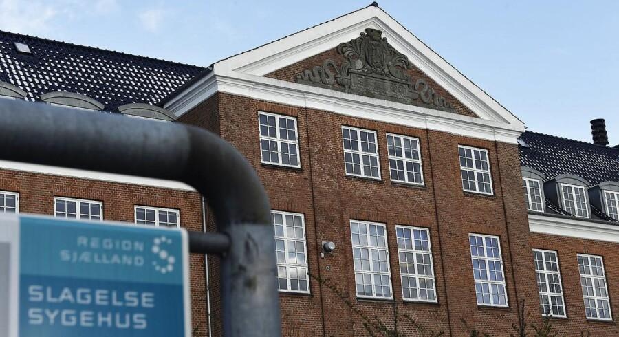 Arkivfoto. Neurologiske patienter kan være trygge på Slagelse Sygehus, siger regionsrådsformand i Region Sjælland.