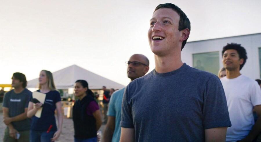 Facebooks topchef Mark Zuckerberg