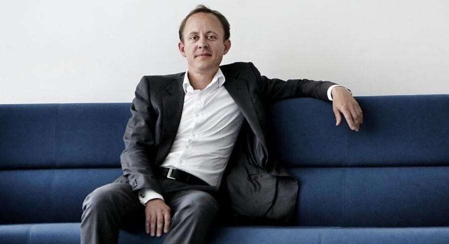 Jesper Theill Eriksen får nu også ansvaret for teleselskabet KPNs mobilkunder. Arkivfoto: Peter Helles Eriksen, Scanpix