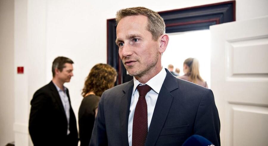 Finansminister Kristian Jensen mener ikke, at der kan blive tale om at øge kommunernes anlægsramme.