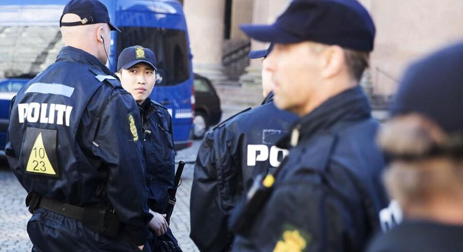 Situationen i Nordsjælland og til dels i København omkring Mozarts Plads bunder ifølge Rigspolitiets vurdering i konflikter mellem konkrete bandegrupperinger (Foto: Bax Lindhardt/Scanpix).