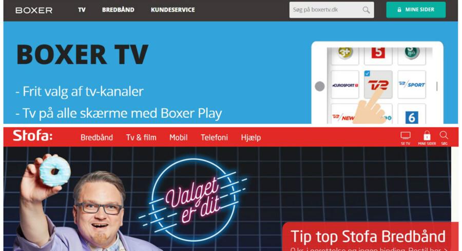 Danmarks næst- og tredjestørste TV-leverandører har nu samme ejer men skal fortsætte hver for sig.