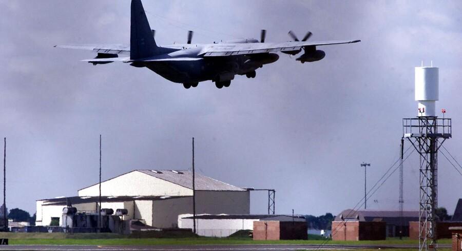 ARKIVFOTO: Den amerikanske militærbase i England