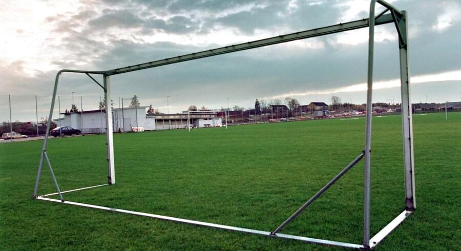 Arkivfoto: Fodboldbaner ved Åhavevej i Århus.