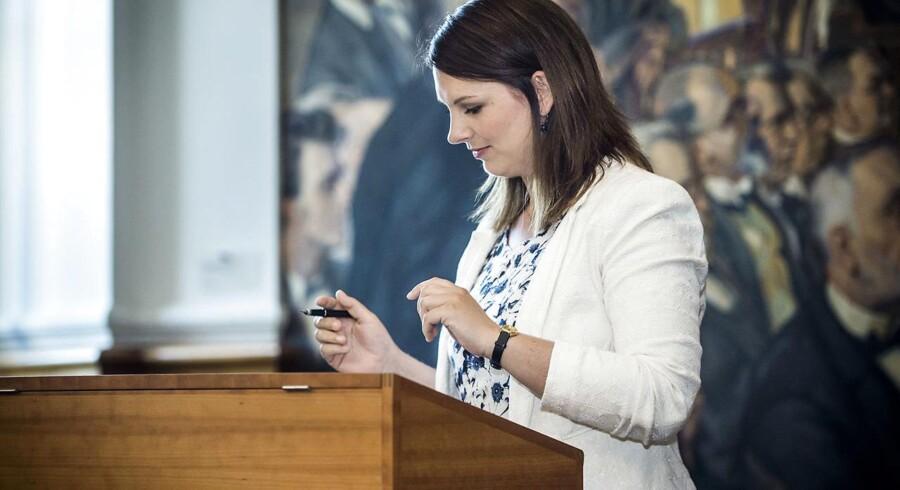 ARKIVFOTO: Mette Abildgaard (Det Konservative Folkeparti).