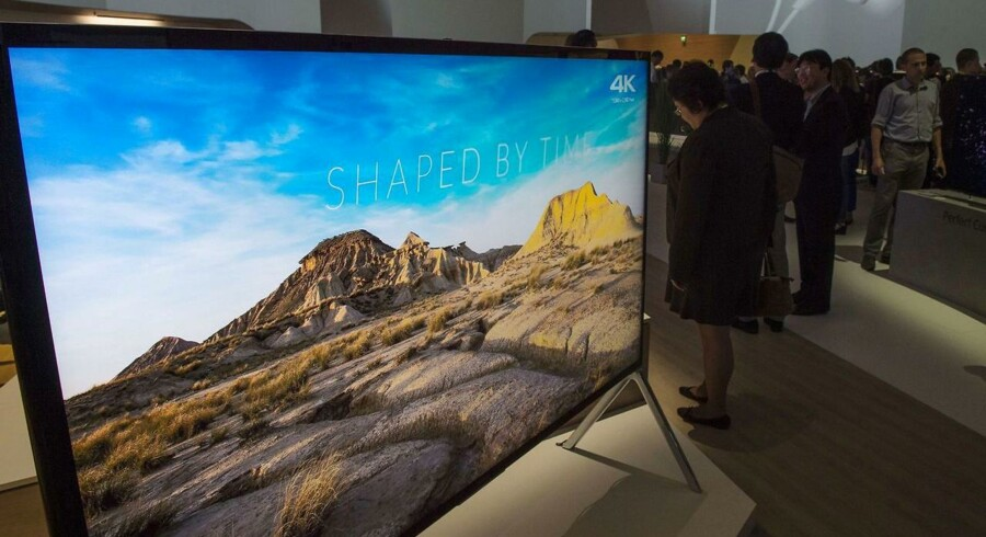 Der er ikke meget ved at have et ultra-HD-TV, hvis man ikke kan se noget på det, som faktisk er optaget i ultra-HD-kvalitet, der er fire gange højere end fuld-HD. Det skal en ny Viasat-kanal råde bod på. Arkivfoto: John MacDougall, AFP/Scanpix