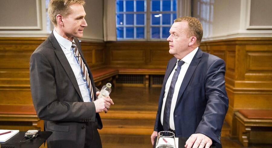 Løkke holdt en tale, som Thulesen også kunne have holdt. Men DF-formanden vil se resultater, før han jubler.