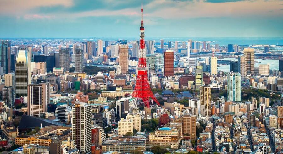 Arkivfoto. Tokyo.