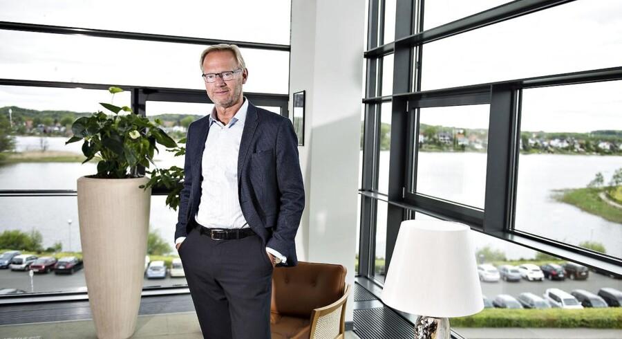 Arkivfoto: Jyske Banks topchef Anders Dam, der låner stadigt flere milliarder til boliger, frygter ikke fortidens fejl.