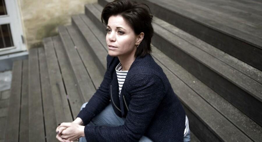 Portræt af familieterapeut Fie Hørby