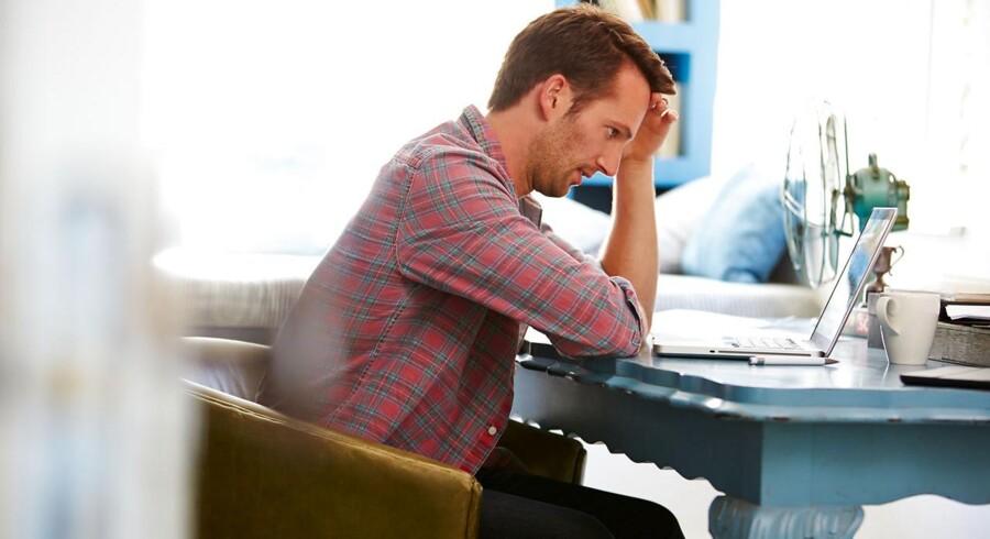 Flere danske lønmodtagere har stresssymptomer i dag end tidligere. Det fremgår af en rapport, som Det Nationale Forskningscenter for Arbejdsmiljø har offentliggjort i maj måned. Foto: Shutterstock