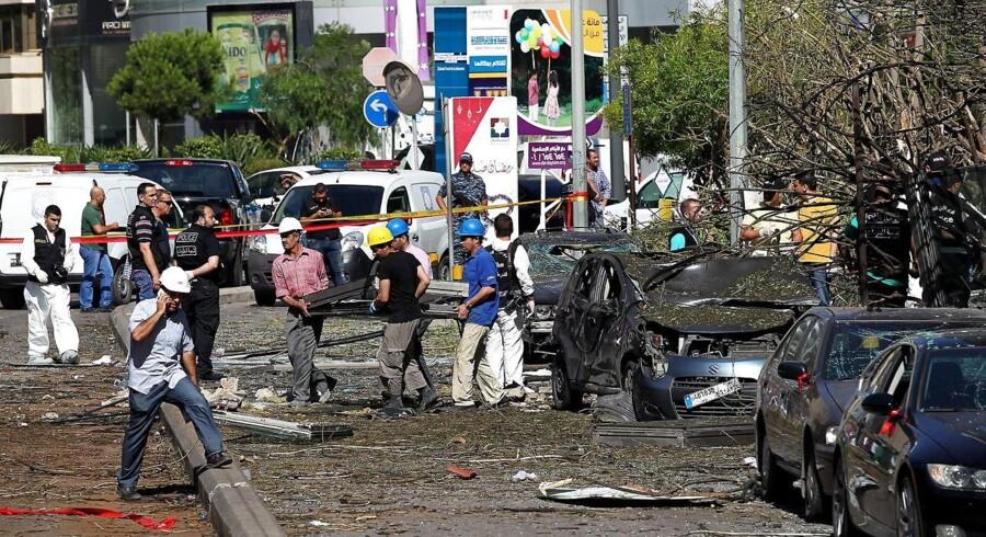 Bombe i Beirut.