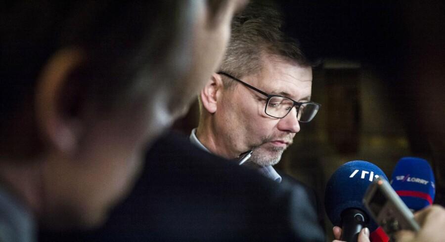 Frank Jensen og Københavns Kommune har en regning, som snart skal betales, hvis samarbejdet mellem København og staten ikke skal påvirkes negativt i fremtiden, skriver minister Ole Birk Olesen (LA) i et brev. (Foto: Asger Ladefoged/Scanpix 2017)