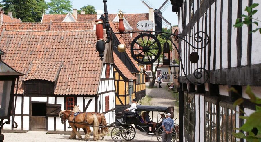 Den Gamle By i Aarhus er en af landets største turistattraktioner. Foto: PR