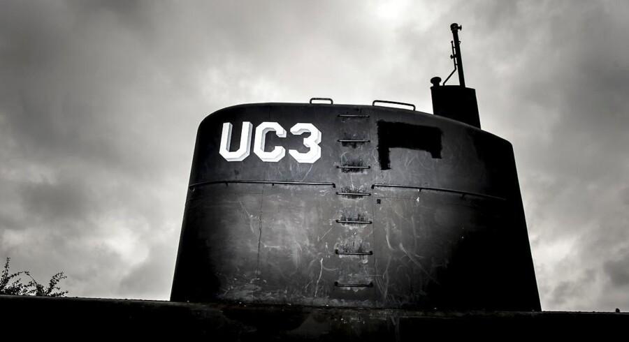 Peter Madsens ubåd UC3 Nautilus er i politiets varetægt.