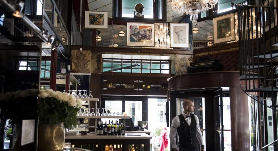 Café Victor på Ny Østergade.
