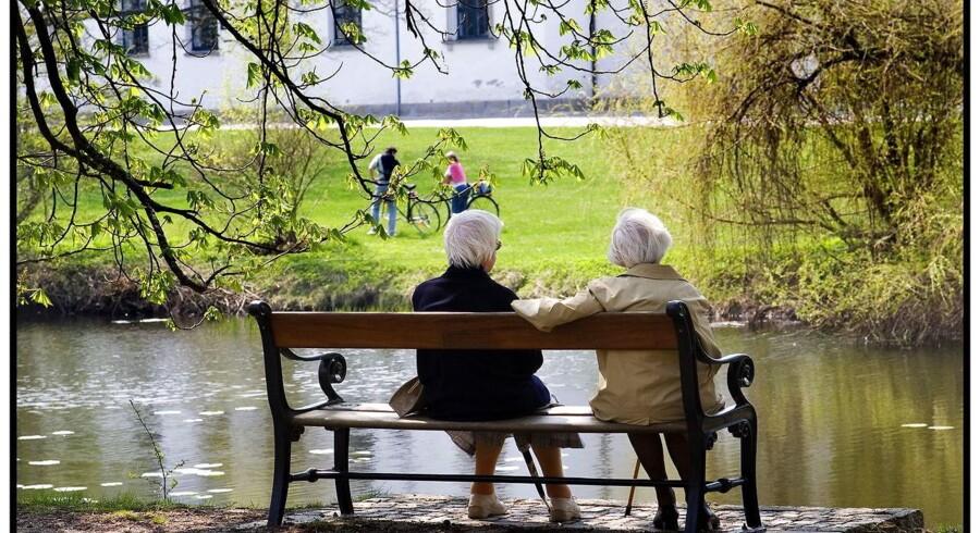 Regeringen og Dansk Folkeparti nåede tirsdag til enighed om en ny pensionsaftale. Arkivfoto: Torben Christensen/Scanpix 2014