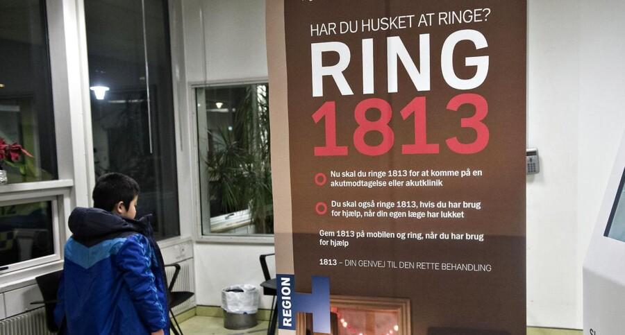 """Et tragisk meningitis-dødsfald efter en fejl på 1813-akuttelefonen får nu Venstre i Region Hovedstaden til at kræve, at der indføres en second opinion-ordning, så mindst to læger skal være med til at vurdere """"kritiske tvivlstilfælde""""."""