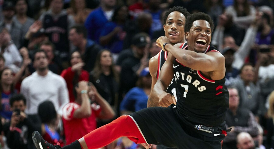 Kyle Lowry scorede 30 point, da Toronto Raptors besejrede Houston Rockets. Scanpix/Rick Osentoski