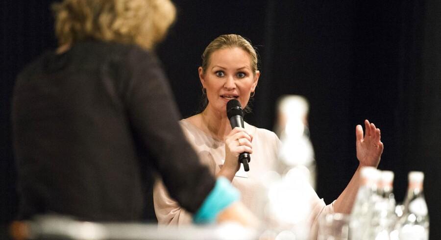Arkivfoto: Venstres medieordfører, Britt Bager.