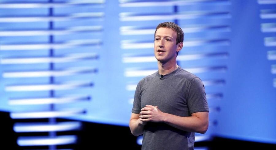 Mark Zuckerbergs magt over Facebook skal ændres, så han ikke kan bestemme alt, hvis forlader selskabet. Arkivfoto: Stephen Lam, Reuters/Scanpix