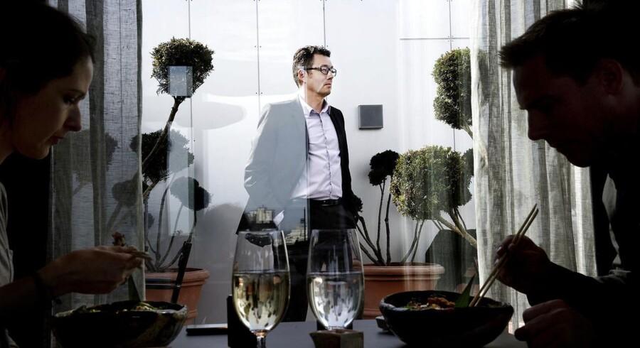 Kim Rahbek Hansen, manden bag virksomheden Sticks'n'sushi, vil hellere til London end Aarhus.