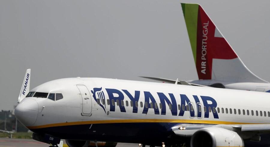 Omsætningen hos lavprisflyselskabet Ryanair steg ti procent trods adskillige aflysninger, viser regnskabet. /REUTERS/Rafael Marchante