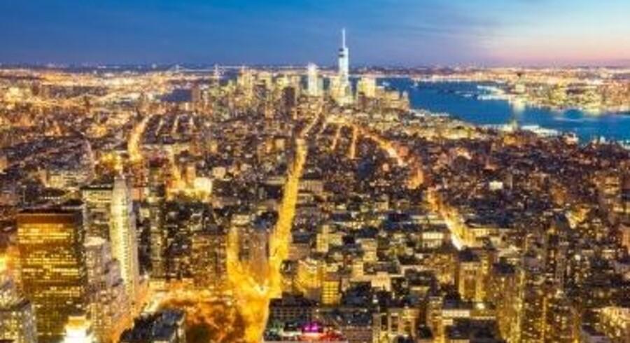 Flere lejligheder i den helt dyre ende af Manhattan er røget på tvang. Free/Colourbox / Arkiv