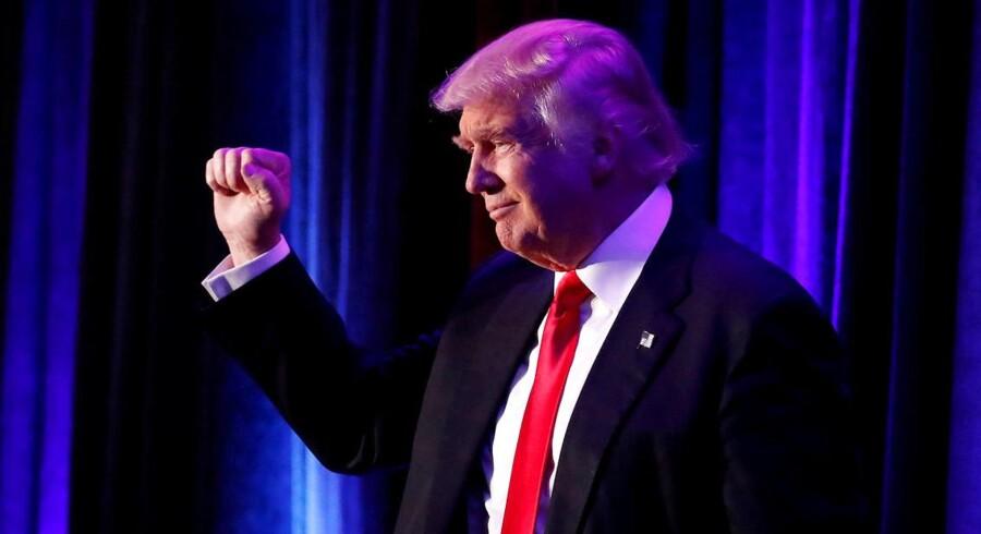USA kommende præsident Donald Trump