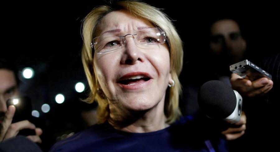 Luisa Ortega Diaz har nægtet at anerkende det nye råd og dets beslutning om at fjerne hende.