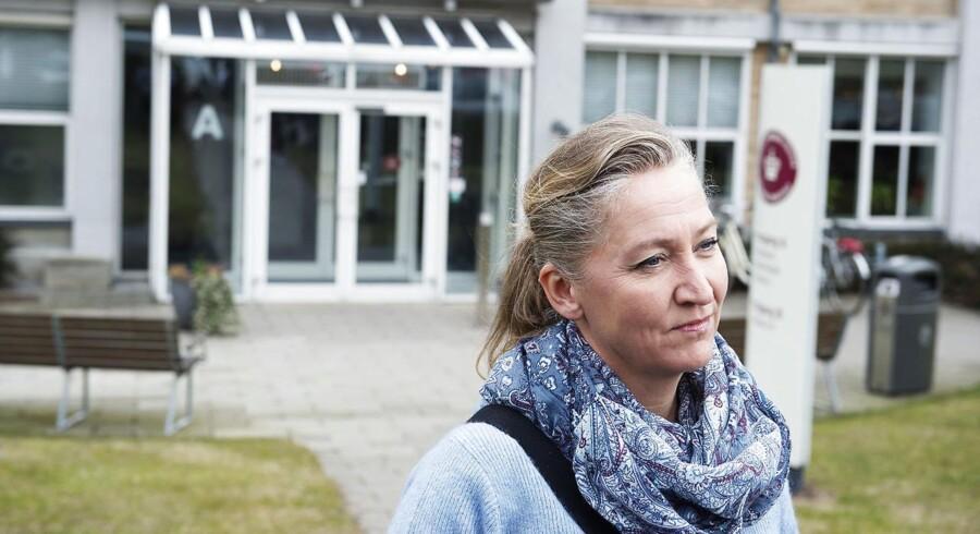 Retten i Nykøbing Falster, hvor Lisbeth Zornig Andersen og hendes mand Michael Rauno Lindholm er anklaget for menneksesmugling.