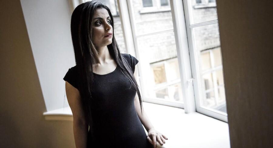 Sarah Omar, forfatter. Hun har skrevet romanen »Dødevaskeren« om undertrykkelse af muslimske kvinder