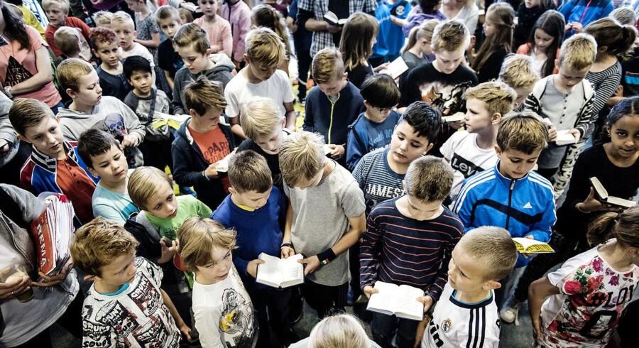 Private skoler skal have flere penge til undervisning af elever med særlige behov, mener regeringen. Her arkivfoto fra Køge Private Realskole.