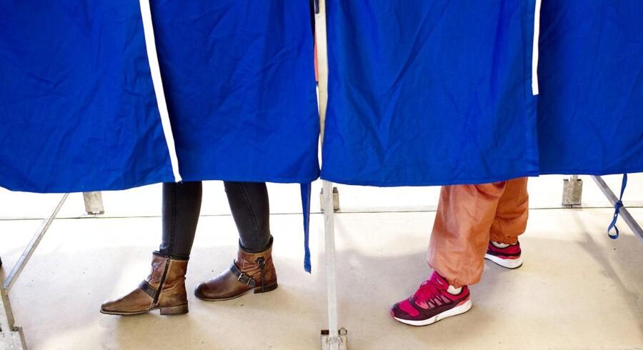 ARKIVFOTO. Til kommunalvalget kan knap 350.000 udenlandske statsborgere med bopæl i Danmark stemme.