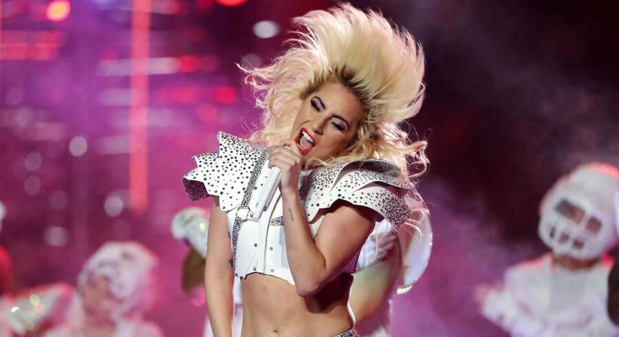 Lady Gaga aflyser koncert i København 17. febraur REUTERS/Adrees Latif/File Photo