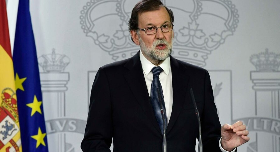Arkivfoto. Den spanske regering siger, at alle muligheder står åbne i forhold til Catalonien.