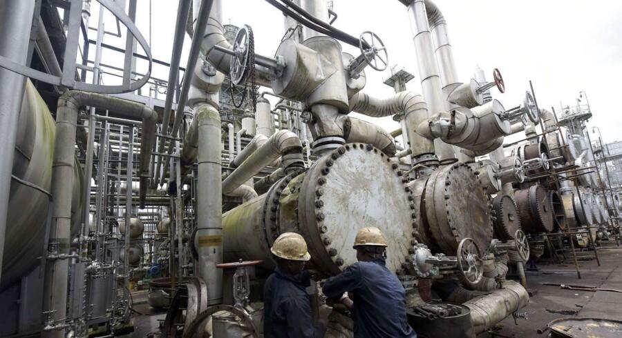Olierafinaderi i Nigeria
