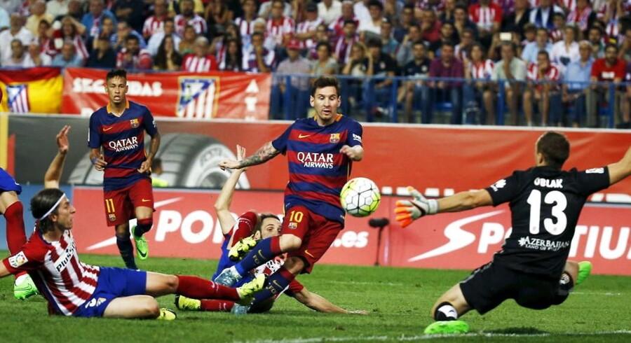 Fremover kan Lionel Messi og resten af Barcelonas hold følges på Viasats kanaler i Danmark, efter moderselskabet MTG har købt rettighederne til den bedste spanske, italienske og franske fodboldliga.