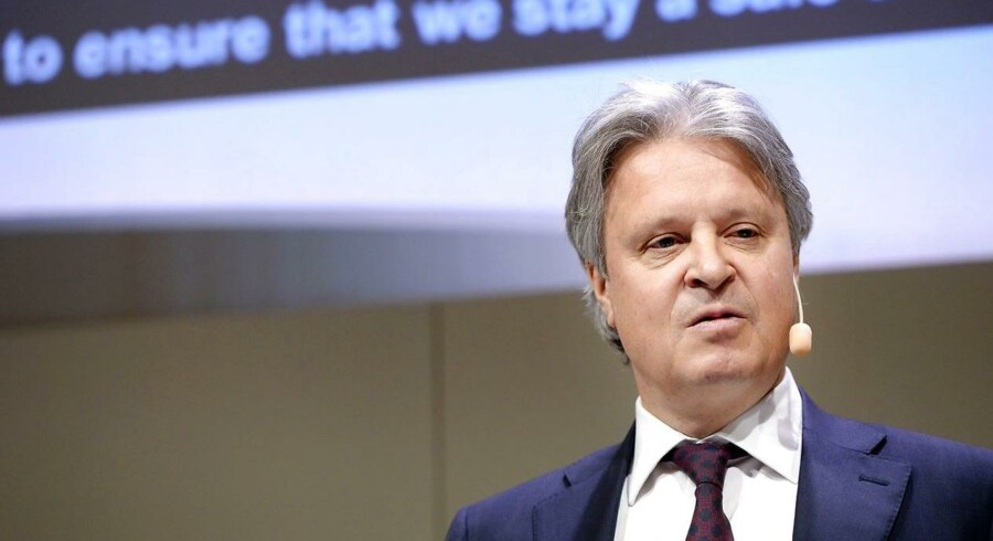 Nordeas topchef, Casper von Koskull, prøver at presse den svenske regering
